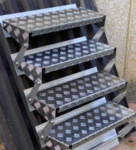 Gradino alluminio